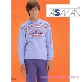 Pijama Assman niño 7514
