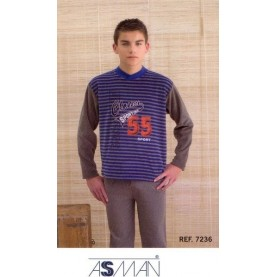 Velour pajama Style 7236