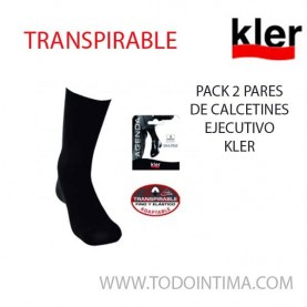 Pack 2 pair Kler executive socks style EE3