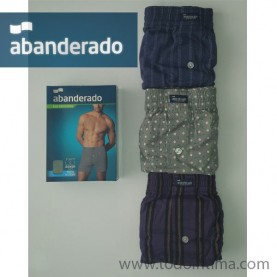 Pack 3 boxer shorts abanderado AS00220