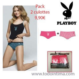 Pack 2 culottes Playboy G00LP