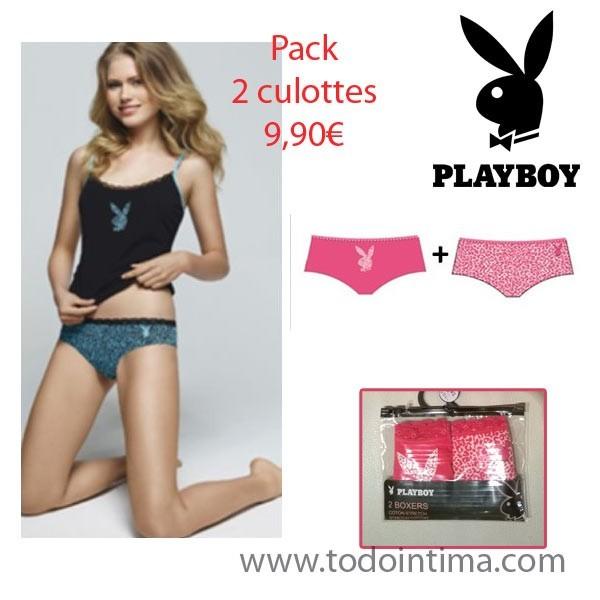 Pack 2 culottes Playboy G00LP