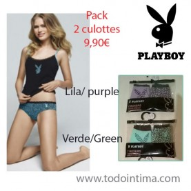 Pack 2 boxer Playboy G017O