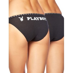 Pack 2 braguitas Playboy G017T