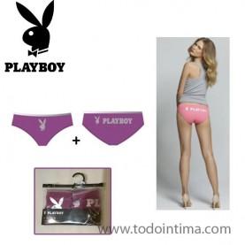 Pack 2 braguitas Playboy G00LQ