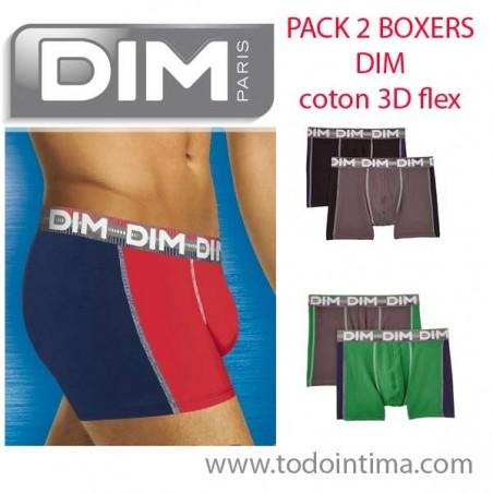 Pack 2 boxer shorts dim D01MZ