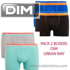 Pack 2 boxer shorts dim D01N3