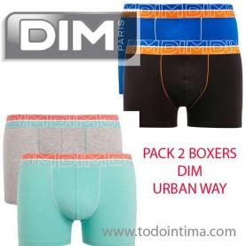 Pack 2 boxers Dim D01N3