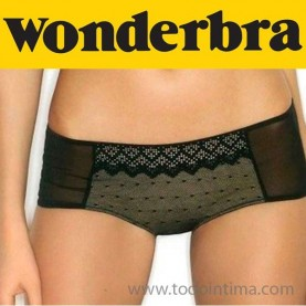 Wonderbra gel bra pixel lace briefs 0002K