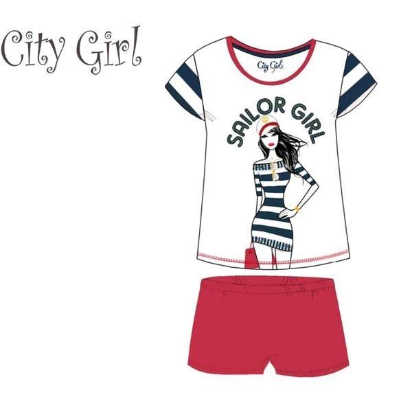 Pajama city girl 83984