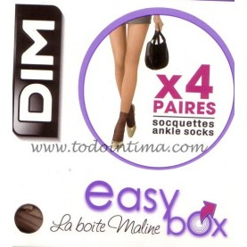 4 pares Mini media tobillera Dim Ref. 2093