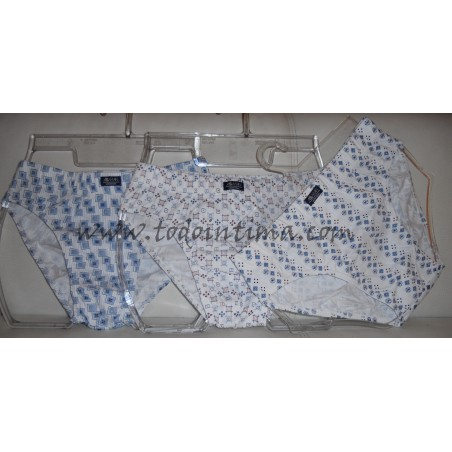 Pack 3 slips algodón Assman 2410