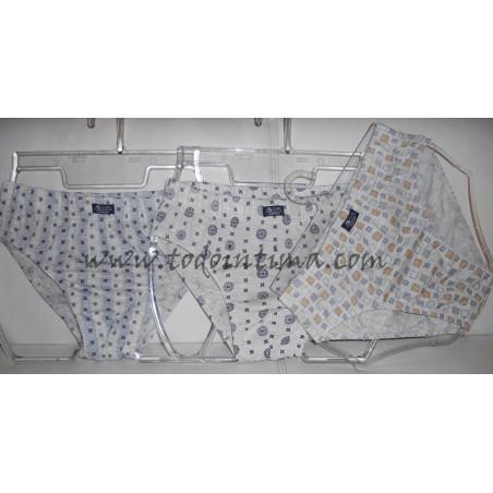 Pack 3 slips algodón Assman 2411