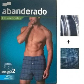 Pack 2 boxer abanderado style AS00250