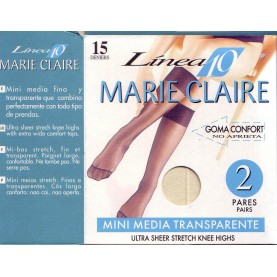 Pack 2 pair Knee-highs Marie Claire 2610