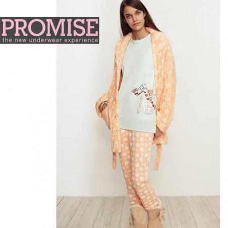 Pijama 3 piezas Promise 6884