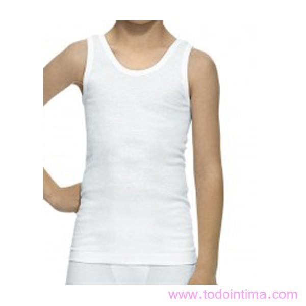 Pack 2 camisetas tirante niño 3291