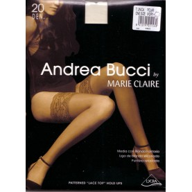 SHEER HOLD-UPS WITH LYCRA OF MARIE CLAIRE STYLE 3450