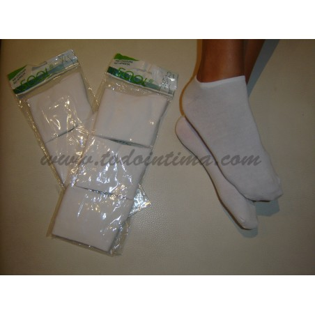 Pack 3 pares calcetines invisibles Sool 353