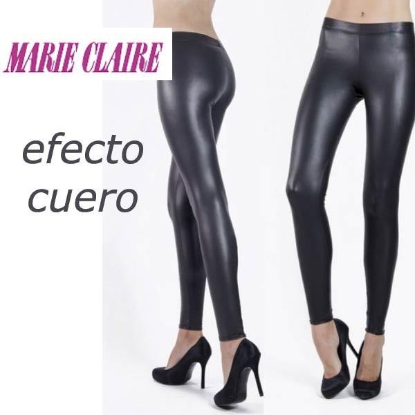 Legging efecto cuero Marie Claire 45310