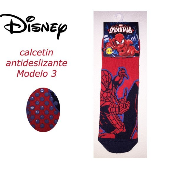 Calcetin antideslizante spiderman modelo 3