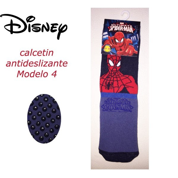 Calcetin antideslizante spiderman modelo 4