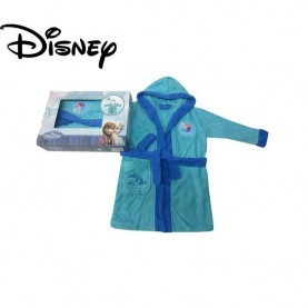 Frozen bathrobe