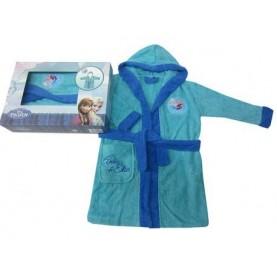 Frozen bathrobe