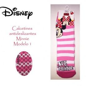 Non-slip Minnie socks style 1