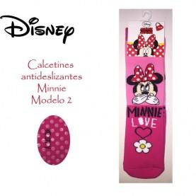 Calcetin antideslizante Minnie modelo 2