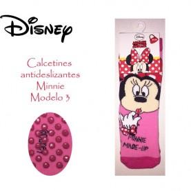 Calcetin antideslizante Minnie modelo 3