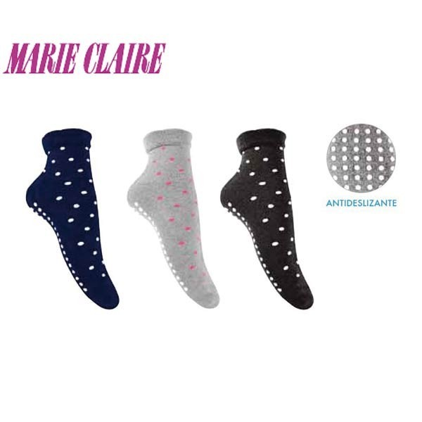 Marie Claire non-skid socks style 95213
