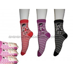Pack 3 lady socks style 411