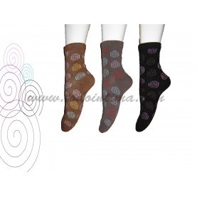 Pack 3 pair lady socks Sool 413