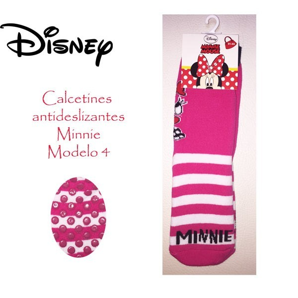 Calcetin antideslizante Minnie modelo 4
