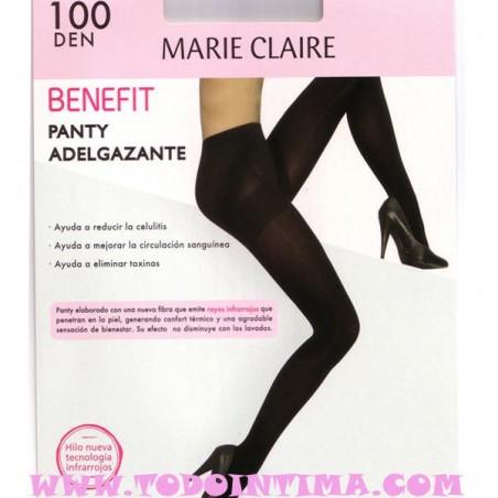 Panty adelgazante opaco de Marie Claire 4795