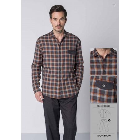 Pyjama guasch en viyella PK481D609