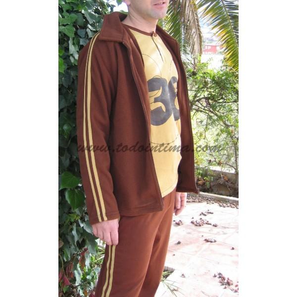 Pijama 3 piezas caballero 522