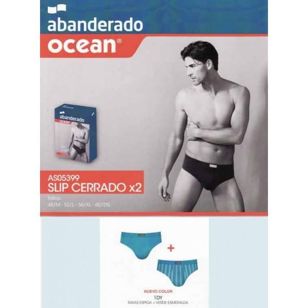 Pack 2 slips Abanderado ocean