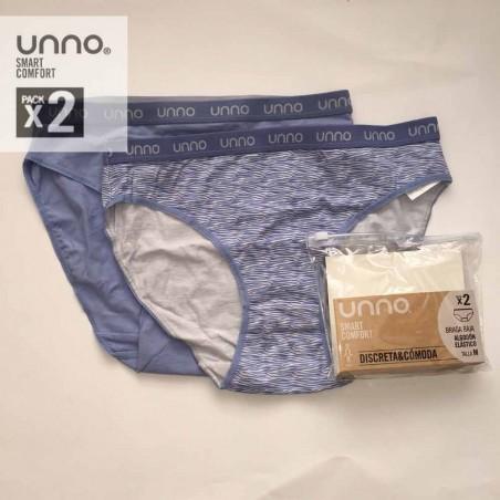 Pack 2 braguitas Unno UM304