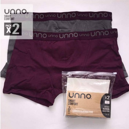Pack 2 boxers Unno UH103