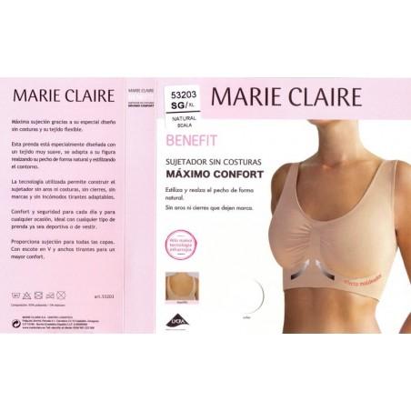 Sujetador Benefit de Marie Claire Ref. 53203