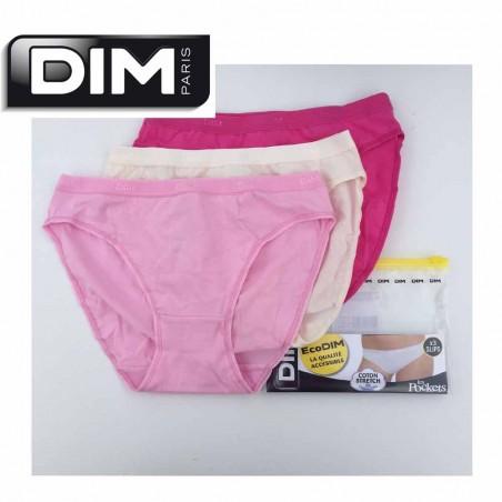 Pack 3 braguitas Dim D4H00