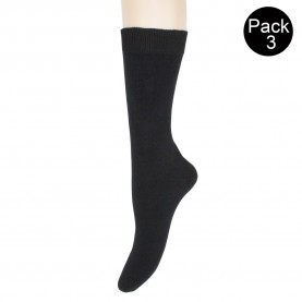 Pack 3 pair cotton socks Sool 301