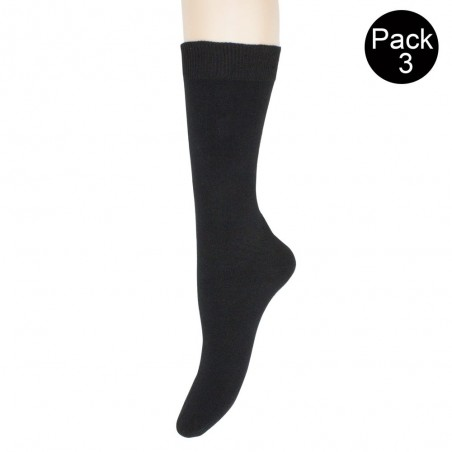 Pack 3 pares calcetines caballero Algodón 301