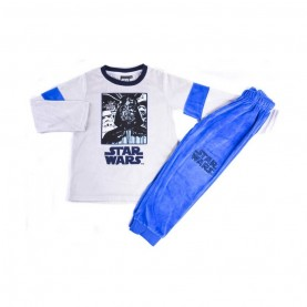 Pijama Terciopelo Niño Star Wars