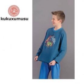 Pijama niño Kukuxumusu 3141