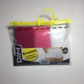 Pack 3 culottes Dim D4H01