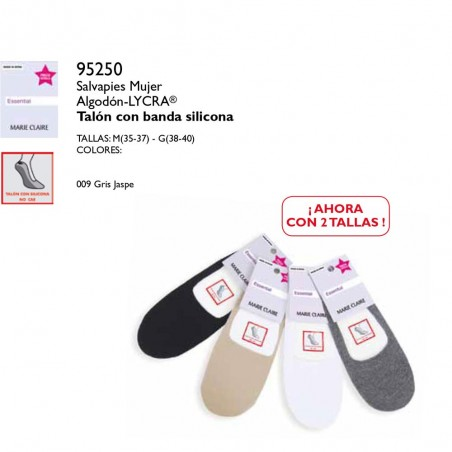 Cotton Footsies Marie Claire 239
