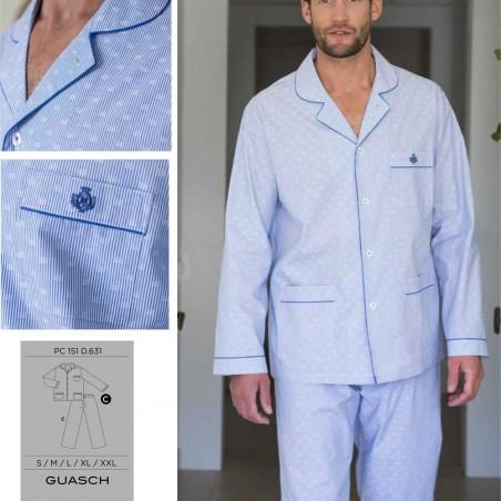 Poplin guasch pajama PC151D602